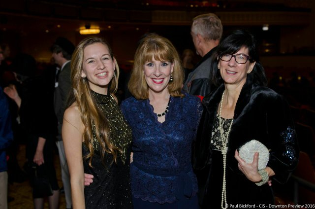 Libby and Lisa Ebeling pose with Phyllis Logan by Paul Bickford.jpg
