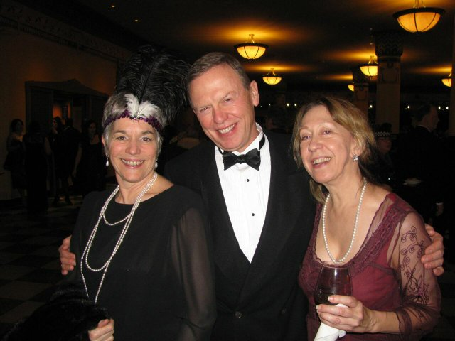Trish Bernal Mark Flynn and his fiance Sue Rowland.jpg