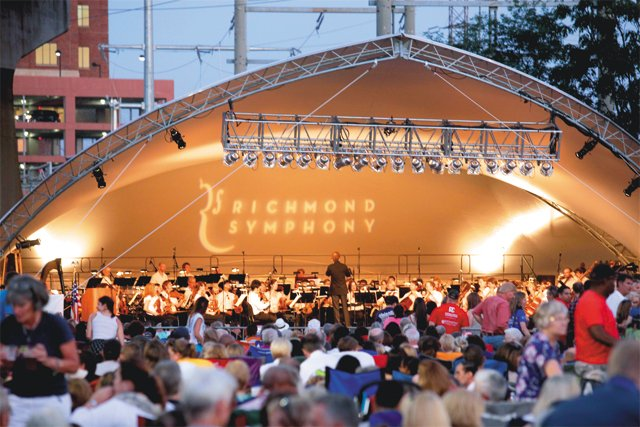 Datebook_RichmondSymphony_rp0516.jpg & The Richmond Symphonyu0027s big tent will travel to Church Hill and ...