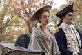 Ksenia Solo as Peggy Shippen, Owain Yeoman as Benedict Arnold - TURN- Washington's Spies _ Season 3, Episode 1 - Photo Credit- Antony Platt:AMC .jpg