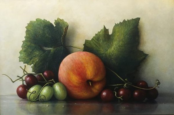 James DelGrosso Peaches and Grapes.jpg