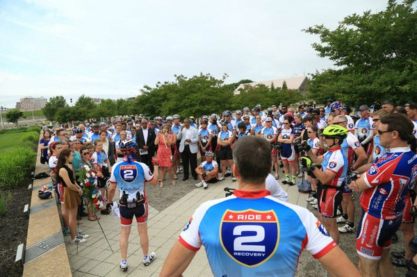 Ride 2 Recovery talk