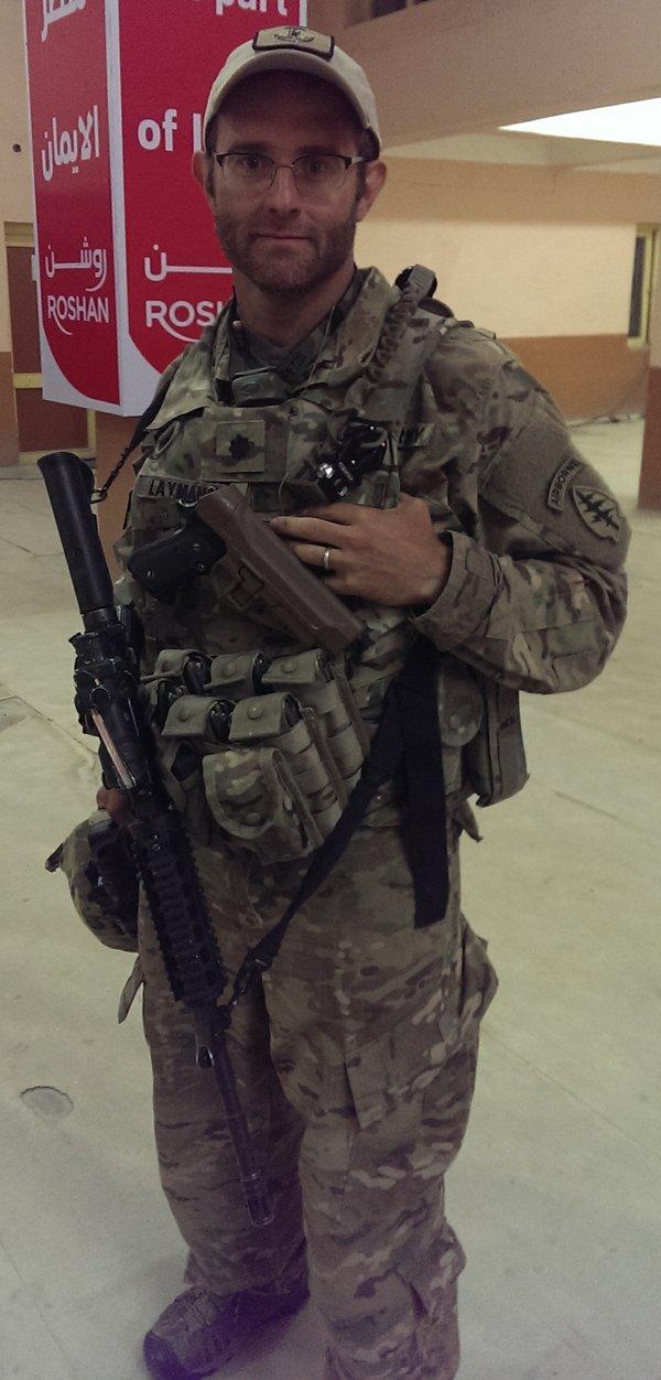 Ralph Layman military