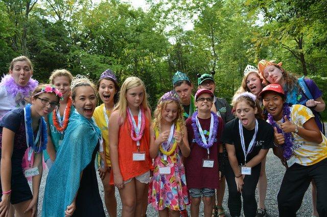 Camp Kesem Group 1