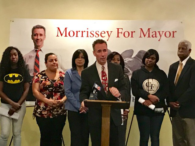 Joe Morrissey Announcement