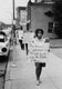 z4_Students protest Prince Edward County public school closings, Main Street near courthouse, Farmville, Va., July 1963.jpg