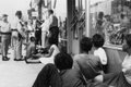 z6_Police arrest protesters outside College Shoppe, Main St., Farmville, Va., July 27, 1963.jpg
