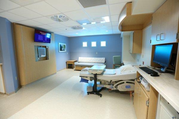 Women's Hospital unit