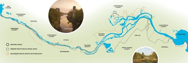 River walk richmondmagazine gosouthriverwalkmaprp1216g sciox Image collections