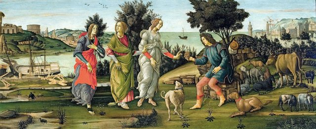 TheJudgementOfParis_Botticelli_courtesyMuscarelleMuseumOfArt.jpeg