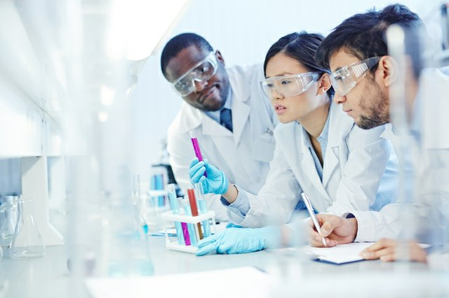 Research stock image