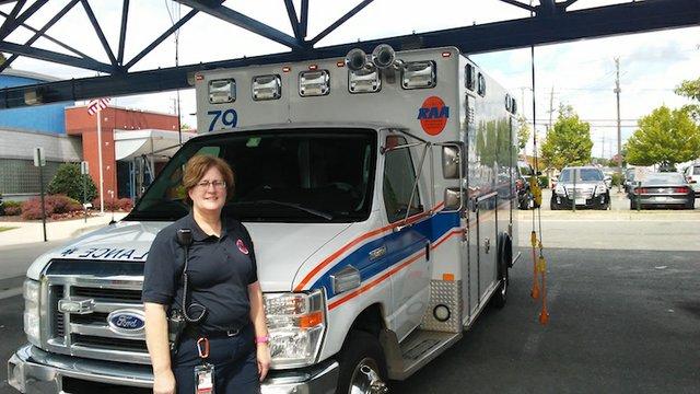 Julie Anderson, Richmond Ambulance