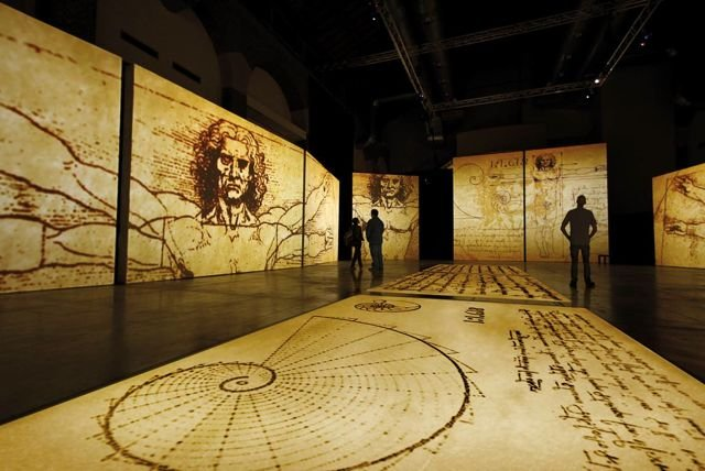Leonardo D Exhibition : Exhibitions celebrating the work of leonardo da vinci and