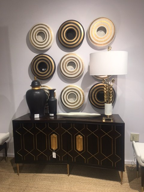 glam wall vignette circles_High Point_Brooke Chappell.JPG
