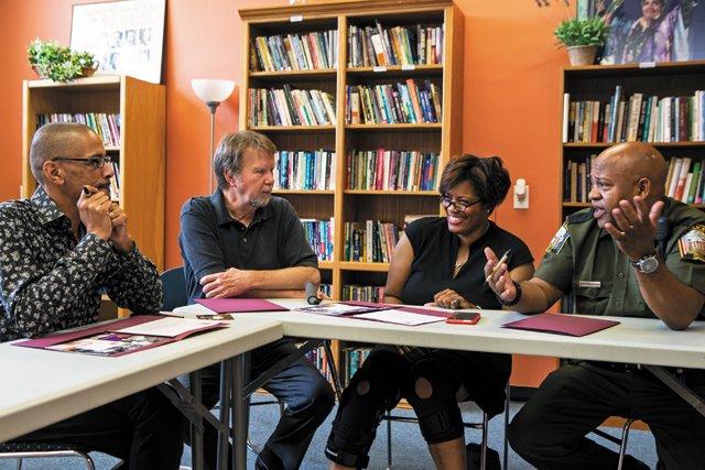 Rodney-Lofton,-Bill-Harrison,-Odetta-Johnson,-LGBTQ-Police-Liaison-Elliott-Anderson_JAYPAUL_rp0818.jpg