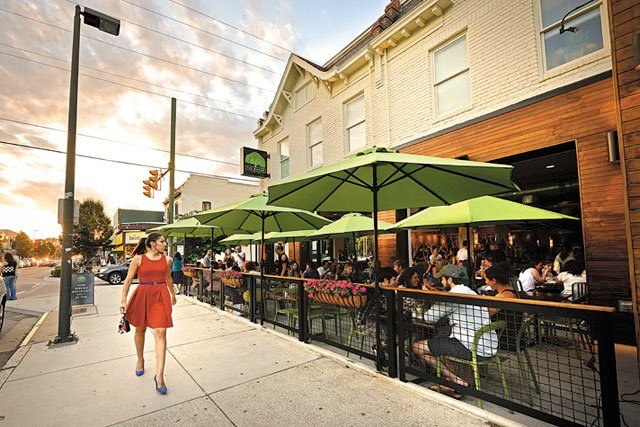 Outdoor Restaurants Richmond
