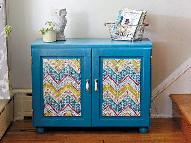 How to Découpage Paper on Furniture , richmondmagazine.com