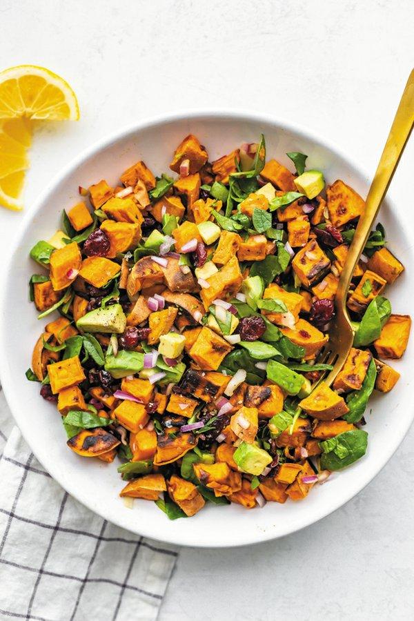 Dining_Cookbooks_EatingBirdFood_RoastedSweetPotatoSalad_MICHELLECHU_rp0221.jpg