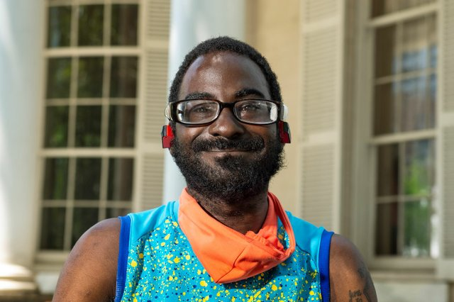 Richmond resident Kenny Lane is receiving treatment through the Adult Sickle Cell Program at VCU Health,, and is a resident in its adult sickle cell medical home. Courtesy VCU Health