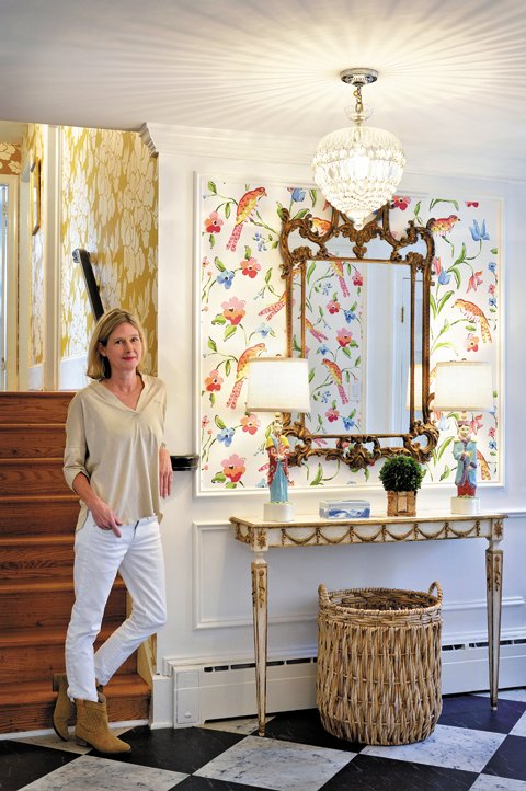 Inside Dana Gibson Wallpaper And Home Design