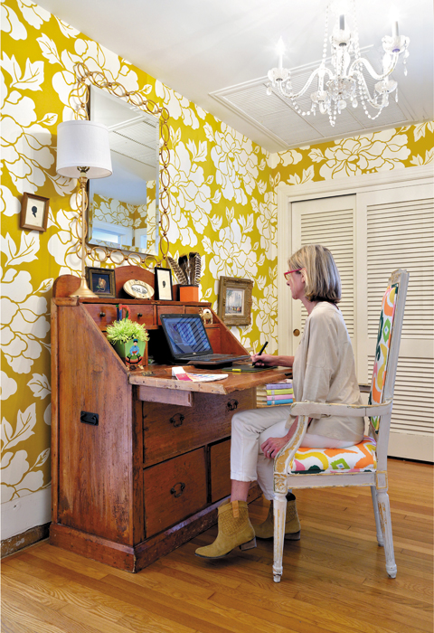Inside Dana Gibson Wallpaper And Home Design