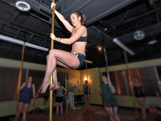 Pole Dancing Workout - Pole Fitness - richmondmagazine.com