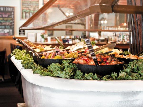 Bathtub Soup and Salad Bar at Strawberry Street Café