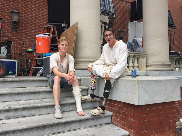 On the Set: a Walk through Mercy Street