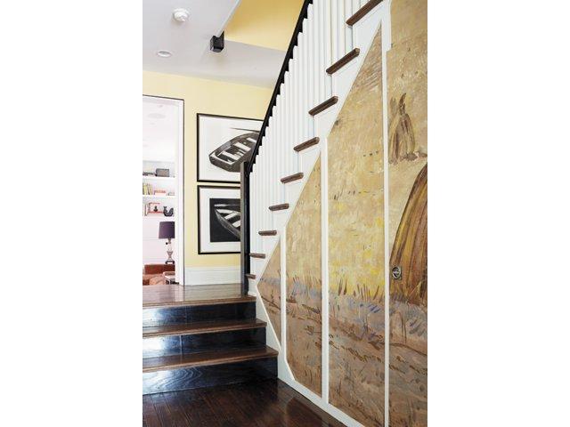 Bensinger House-Staircase