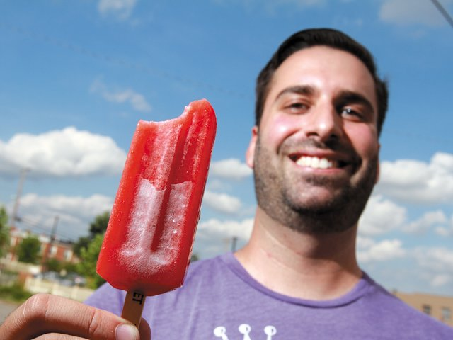 Salted Watermelon Pops