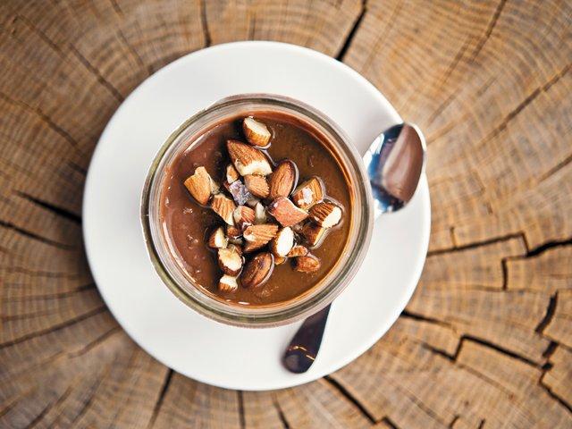 Tazza Kitchen's Chocolate Budino