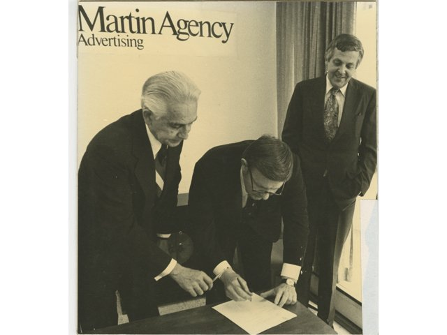 The Martin Agency Hits the $10 Million Billings Mark, 1978