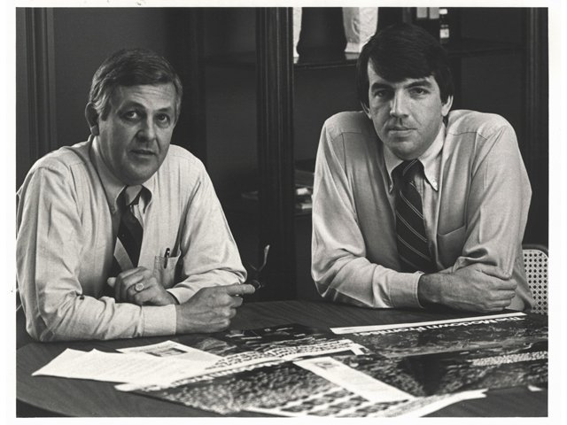 Harry Jacobs and Mike Hughes of The Martin Agency