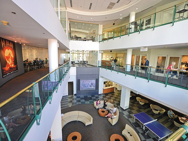The Martin Agency's Atrium
