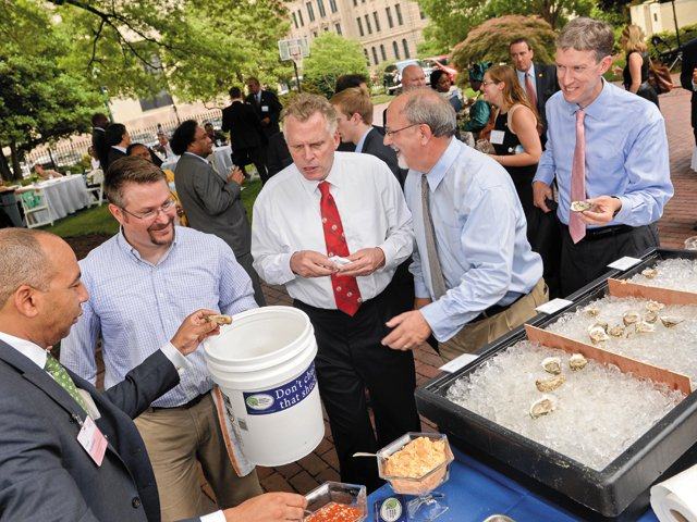 Richmond Dives into Oyster Shell Recycling