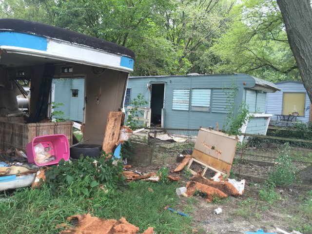 Rudds Trailer Park Just Off Jefferson Davis Highway Is Among The Largest Of Richmonds Nine Mobile Home Communities After City Enforced A Code And