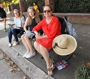 Melissa Oliver and her daughters, Grace and Maeve Oliver UCI.JPG