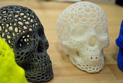 3D skulls