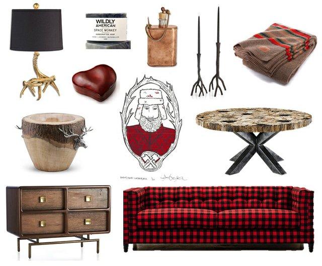 Lumberjack luxe